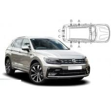 Sonnenschutz Blenden für Volkswagen Tiguan II Typ AD1 2016-
